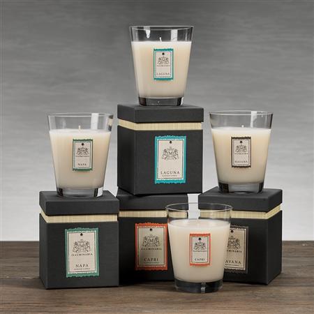 Zodax Illuminaria Scented Candle Jar In Gift Box Small