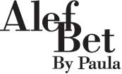 Alef Bet Jewelry by Paula